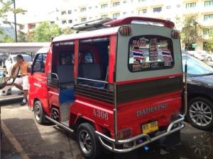 Thai Taxi Van