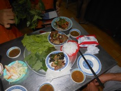 Vietnamese Nems -spring rolls.