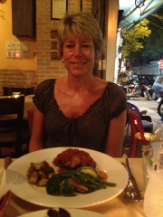 Dinner at Ciao Bella in Saigon