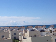 View from our condo in Vera Playa, Spain.