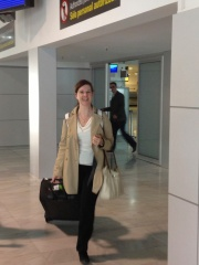 Michele arriving from JFK!!