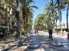 Waterfront area of Alicante