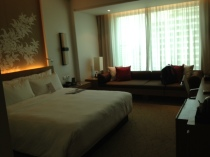 Our room at Le Meridien