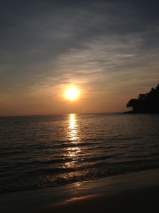 Kamala beach sunset